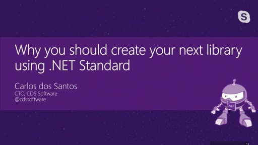 Why you should create your next library using .NET Standard
