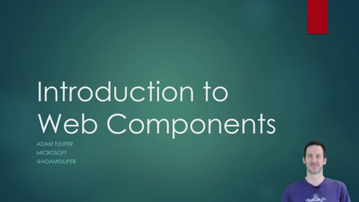 Web.Dev 4: Web Components