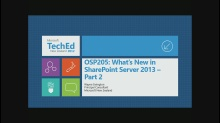 What's new in SharePoint Server 2013 - Part 2