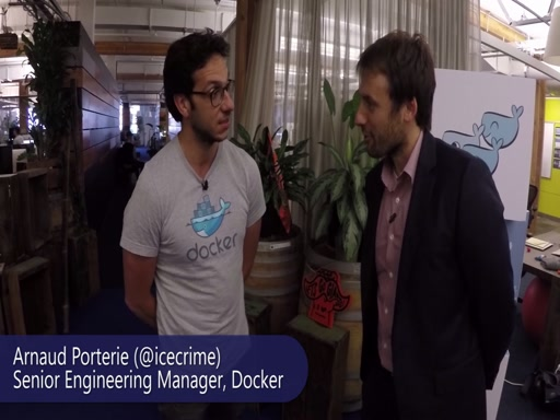 Tuesdays with Corey: Out and About - chatting with Docker