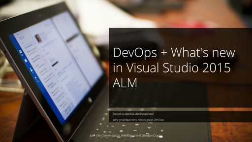 What's new in Visual Studio 2015 and ALM 2015 – Part 2