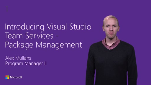 Introducing Visual Studio Team Services Package Management