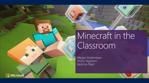 Learning through playing the game kids love - Minecraft