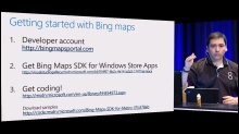 Bing Maps, SkyDrive, and Microsoft Account integration