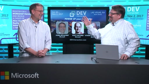 DEVintersection Countdown Show on the Opportunities in Machine Learning with James McCaffrey