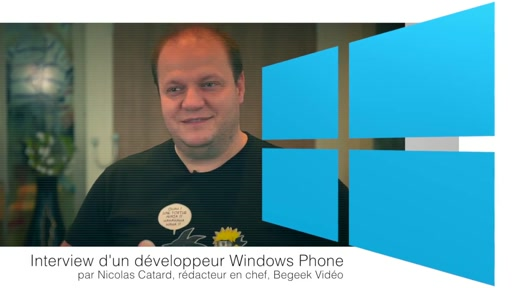 Interview de Rudy Huyn, développeur Windows Phone, par Nicolas Catard