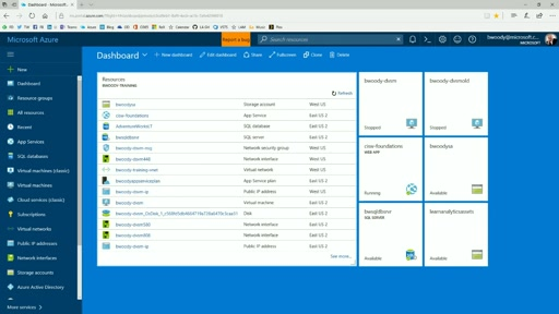 Tools for Data Science - The Microsoft Azure Portal