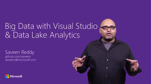 How to analyze massive amounts of data from Visual Studio with Data Lake Analytics
