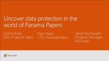 Uncover data protection in the world of Panama Papers