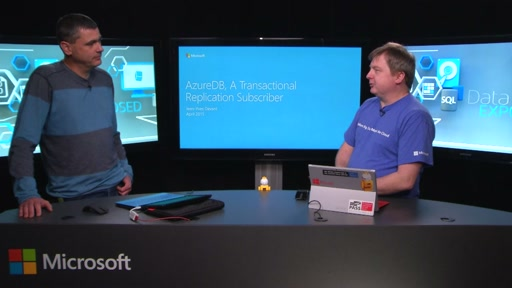 Azure SQL DB Transactional Replication