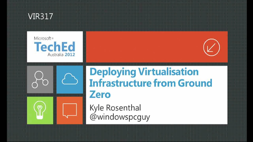 Deploying Virtualization Infrastructure from Ground Zero