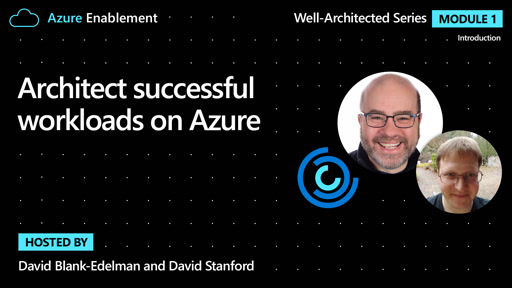 Architect successful workloads on Azure | Introduction Ep. 1: Well-Architected Series