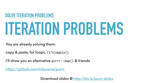 Solving iteration problems with purrr II