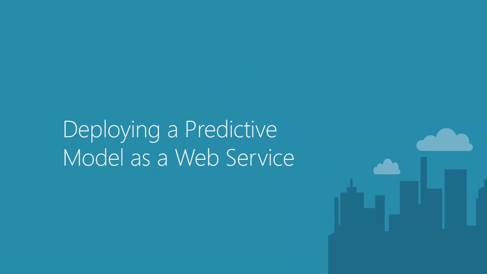 Deploying a Predictive Model as a Web Service