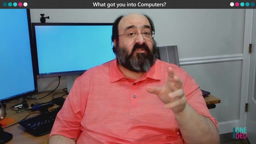What got you into computers? | One Dev Question with Larry Osterman