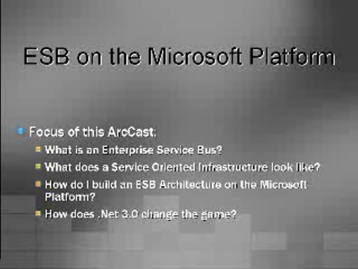Enterprise Service Bus on the Microsoft Platform