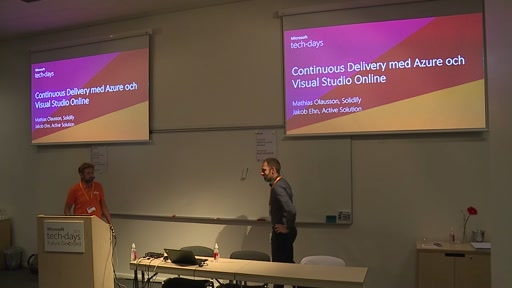 Continuous Delivery med Azure och Visual Studio Online