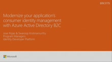 Modernize your apps consumer identity management with Azure AD B2C