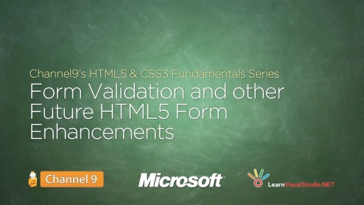 Form Validation and Other Future HTML5 Form Enhancements - 11