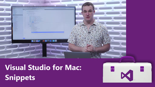 Visual Studio for Mac: Snippets