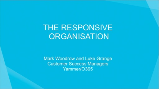 The Responsive Org