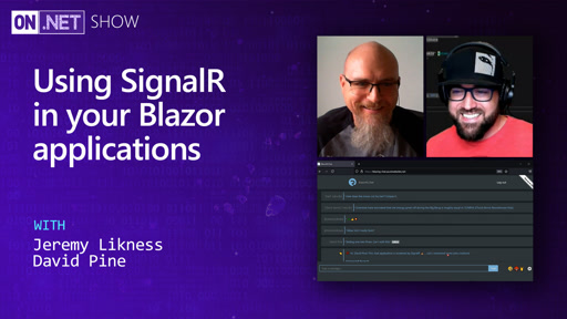 Using SignalR in your Blazor applications