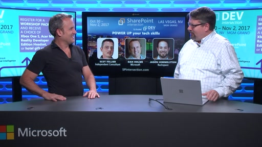DEVintersection Countdown Show on the SharePoint 2017 with Dan Holme