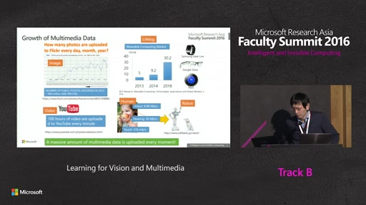 Learning for Vision and Multimedia