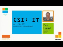 CSI IT by Dan Holme