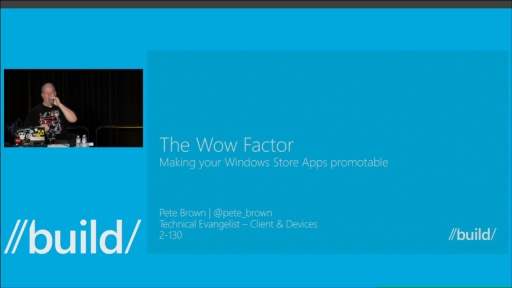 The Wow Factor: Making Your Windows Store App Promotable