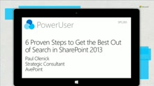 6 Proven Steps to Get the Best Out of Search in SharePoint 2013