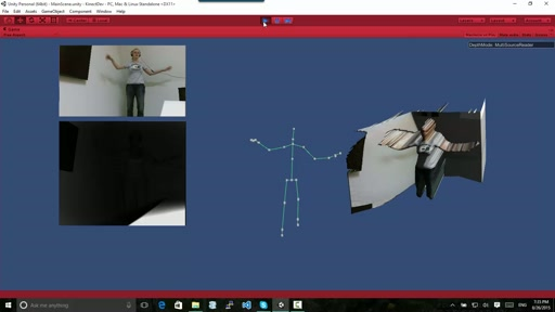 Gesture Control with Kinect and Unity made easy