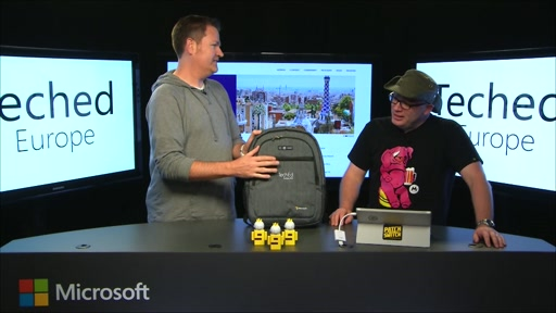 Countdown to TechEd Europe: The One with the Bag