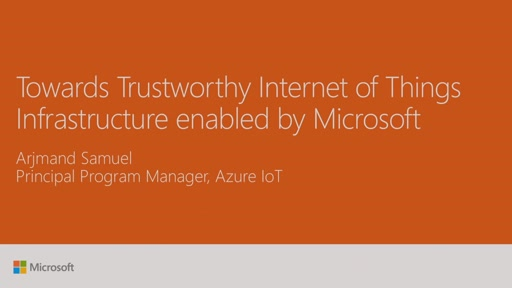 Secure your Internet of Things with Azure IoT