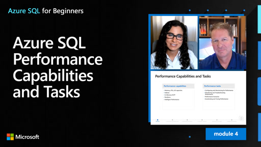 Azure SQL Performance Capabilities and Tasks (34 of 61)