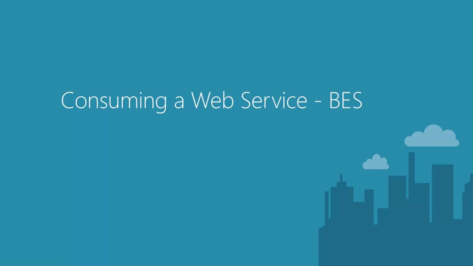 Consuming Batch Execution Web Service