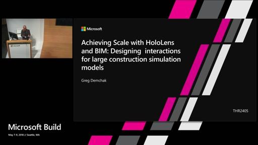 Achieving Scale with HoloLens and BIM: Designing for interactions with large construction simulation models