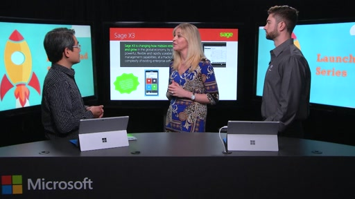 Video Spotlight - Sage X3 App on Windows 10 for SMBs