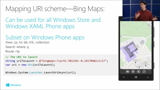 Building Apps for Windows Phone 8.1: (12) Maps, Geolocation, and Geofencing