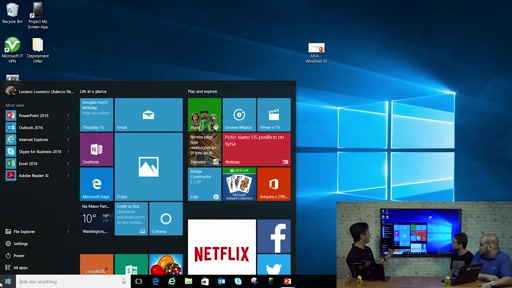 MVA - 10 recursos do Windows 10 - Menu Iniciar