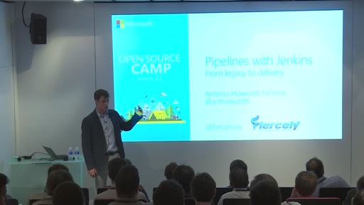 Development pipeline with Jenkins: from legacy to delivery