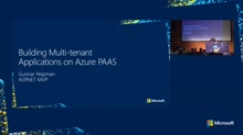 Building Multi Tenant Applications on Azure PAAS