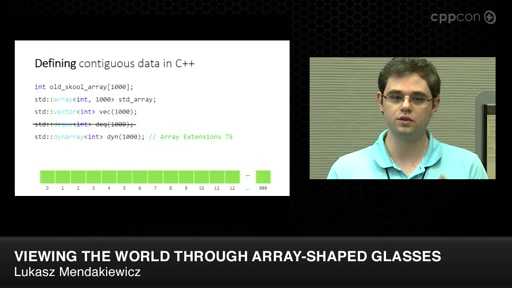 Viewing the World Through Array-Shaped Glasses