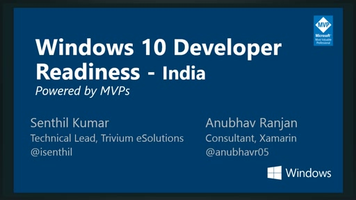 Windows 10 Developer Readiness [India]