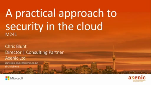 A practical approach to security in the cloud