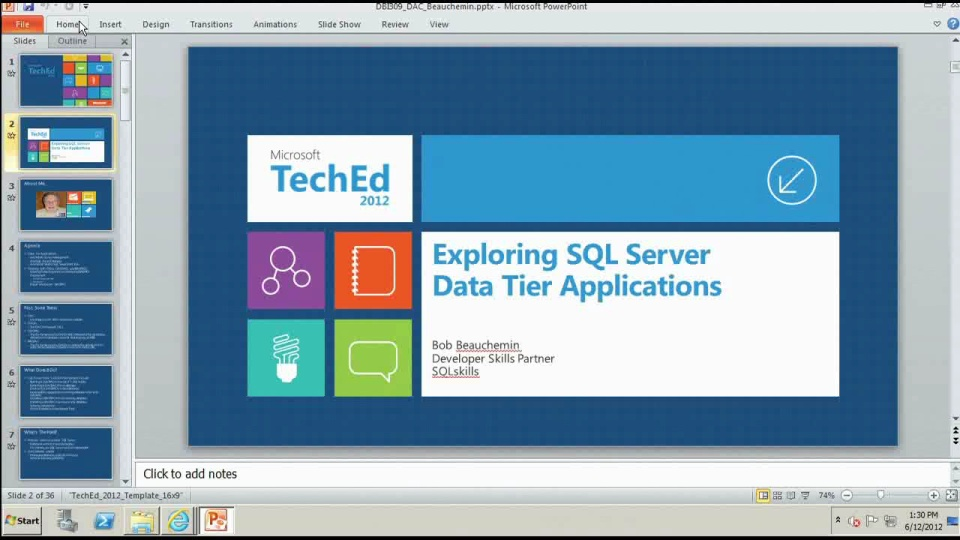 Exploring SQL Server Data Tier Applications