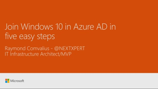 Join Windows 10 in Azure AD in five easy steps