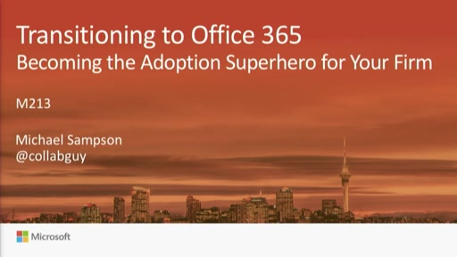 Transitioning to Office 365: Becoming the Adoption Superhero for Your Firm