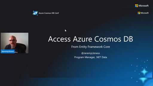 Access Azure Cosmos DB with Entity Framework Core