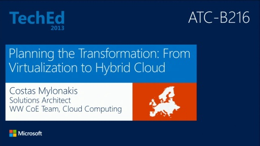 Planning the Transformation: From Virtualization to Hybrid Cloud